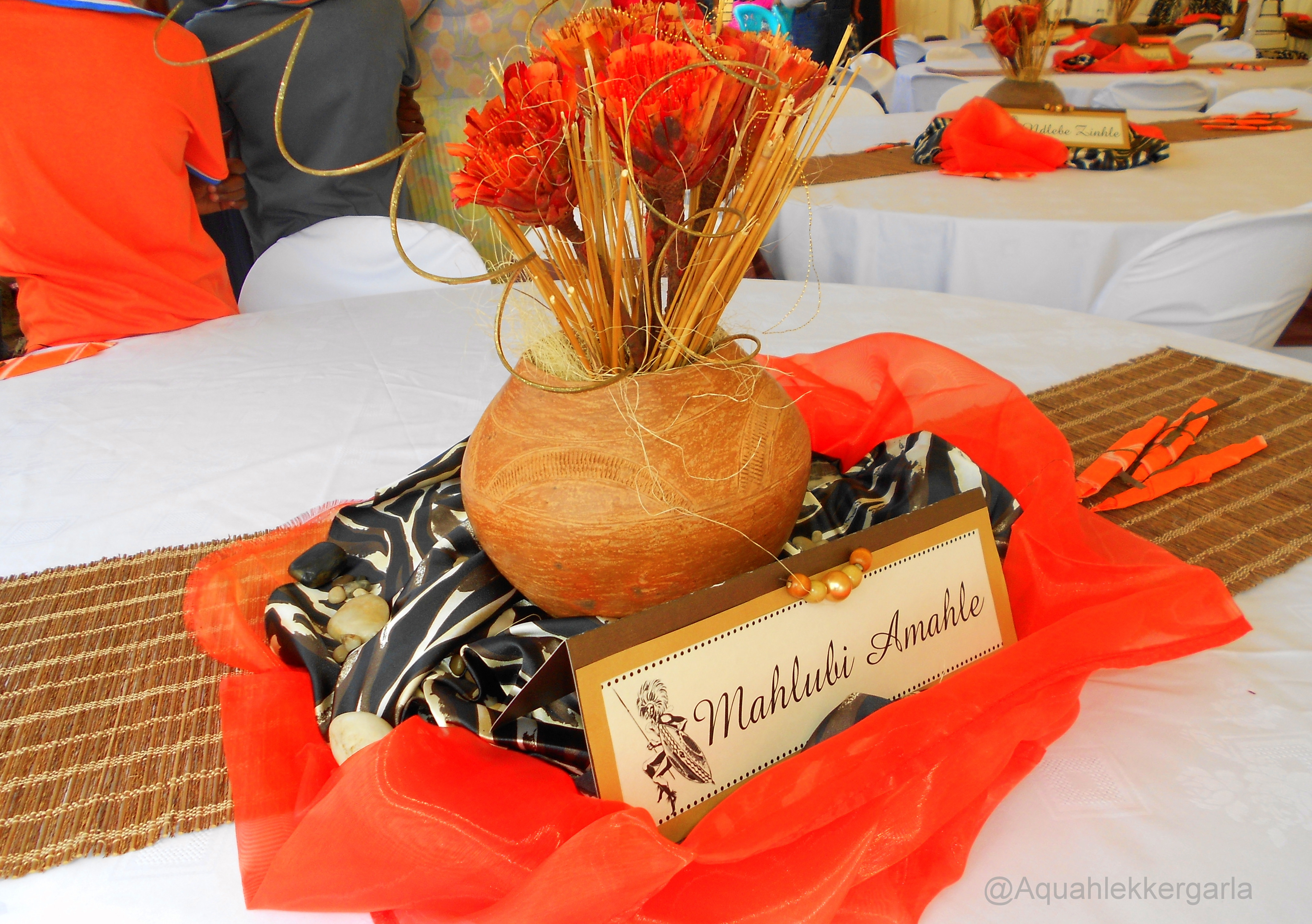 Traditional tswana wedding decorations traditional wedding decor traditional tswana wedding decorations junglespirit Image collections
