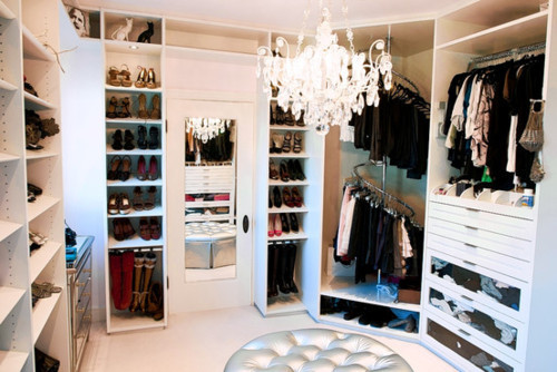 Walk in closet Aquahlekkergarla